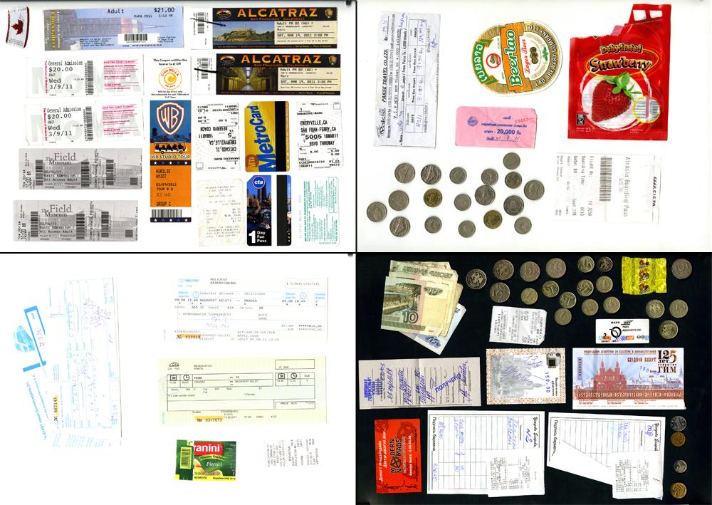 Dossier scrapbooking num rique ou faire son carnet de - Exemple de carnet de voyage ...