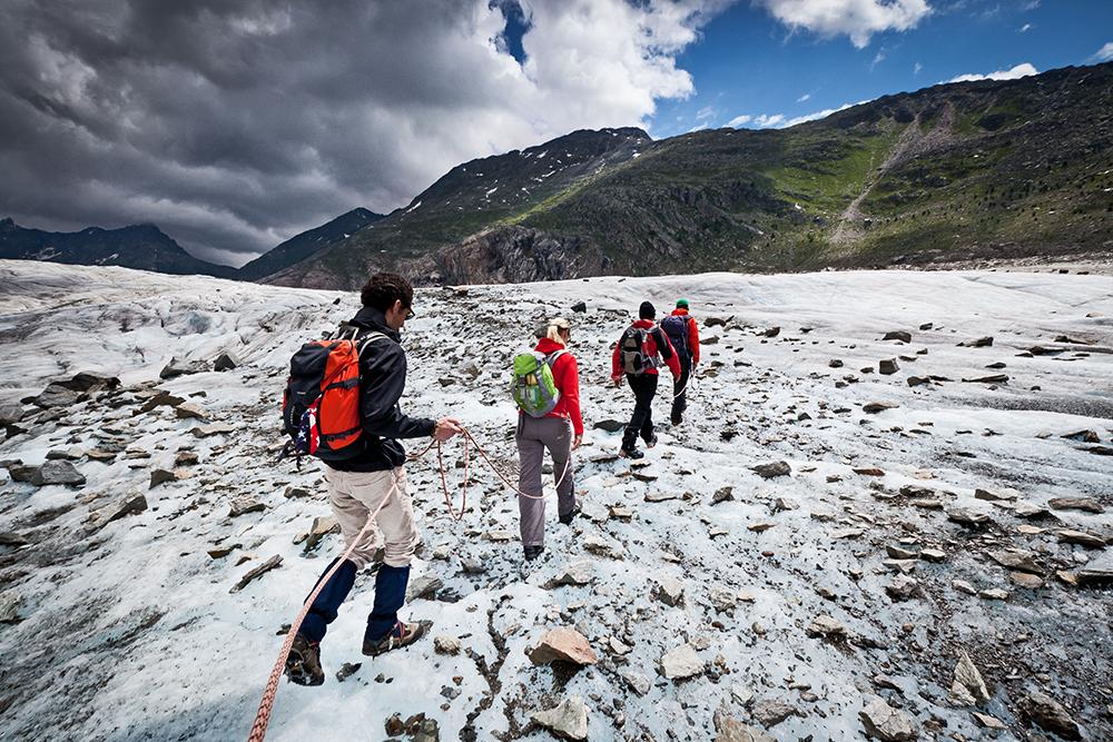 ISuisse : le glacier d'Aletsch