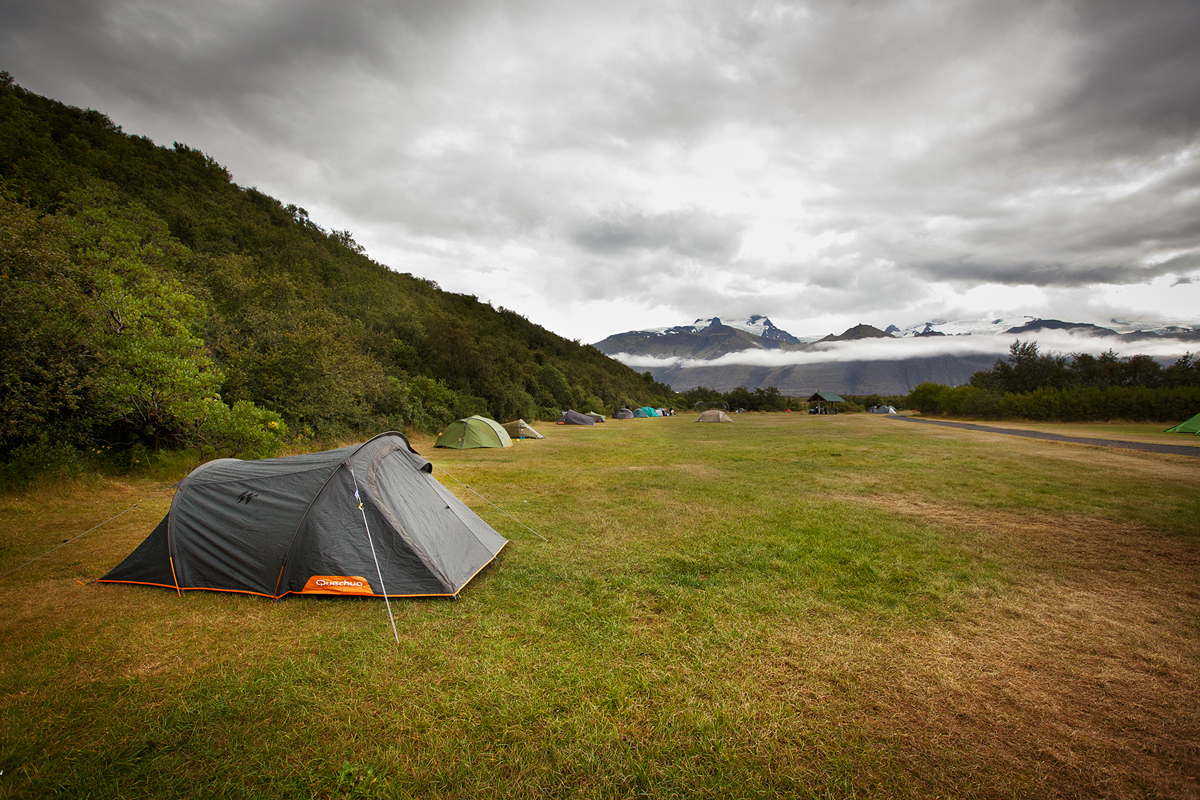 Camping Car Et Tente Islande