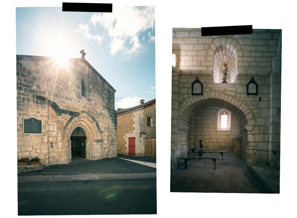 église de Combiers