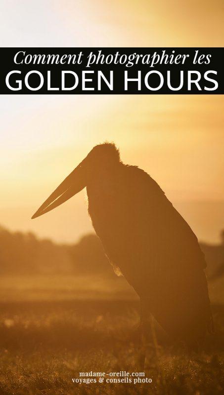 Connaître les horaires des Golden Hours pour améliorer ses photos