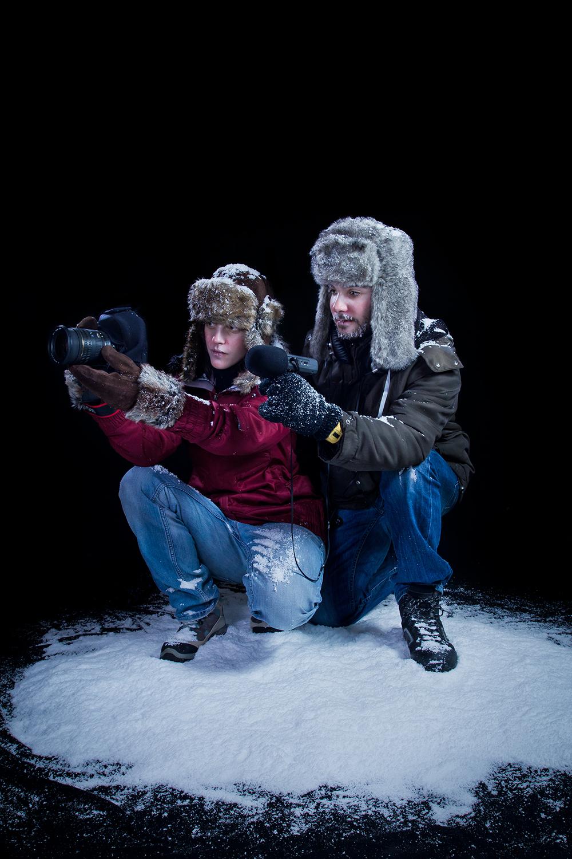 Making of du shooting borealis introduction au strobism for Shooting photo exterieur conseil