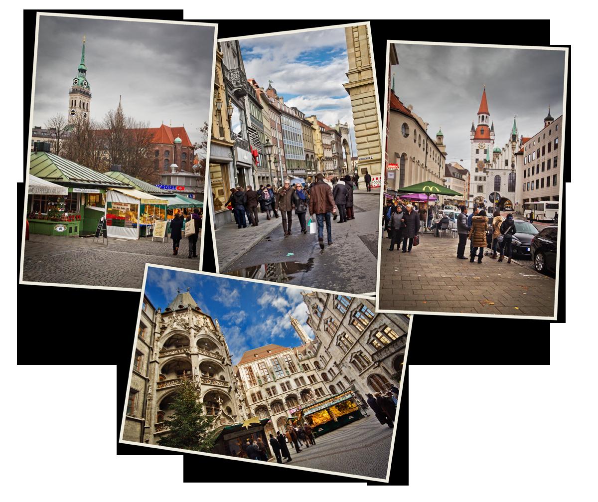 centre-ville de Munich