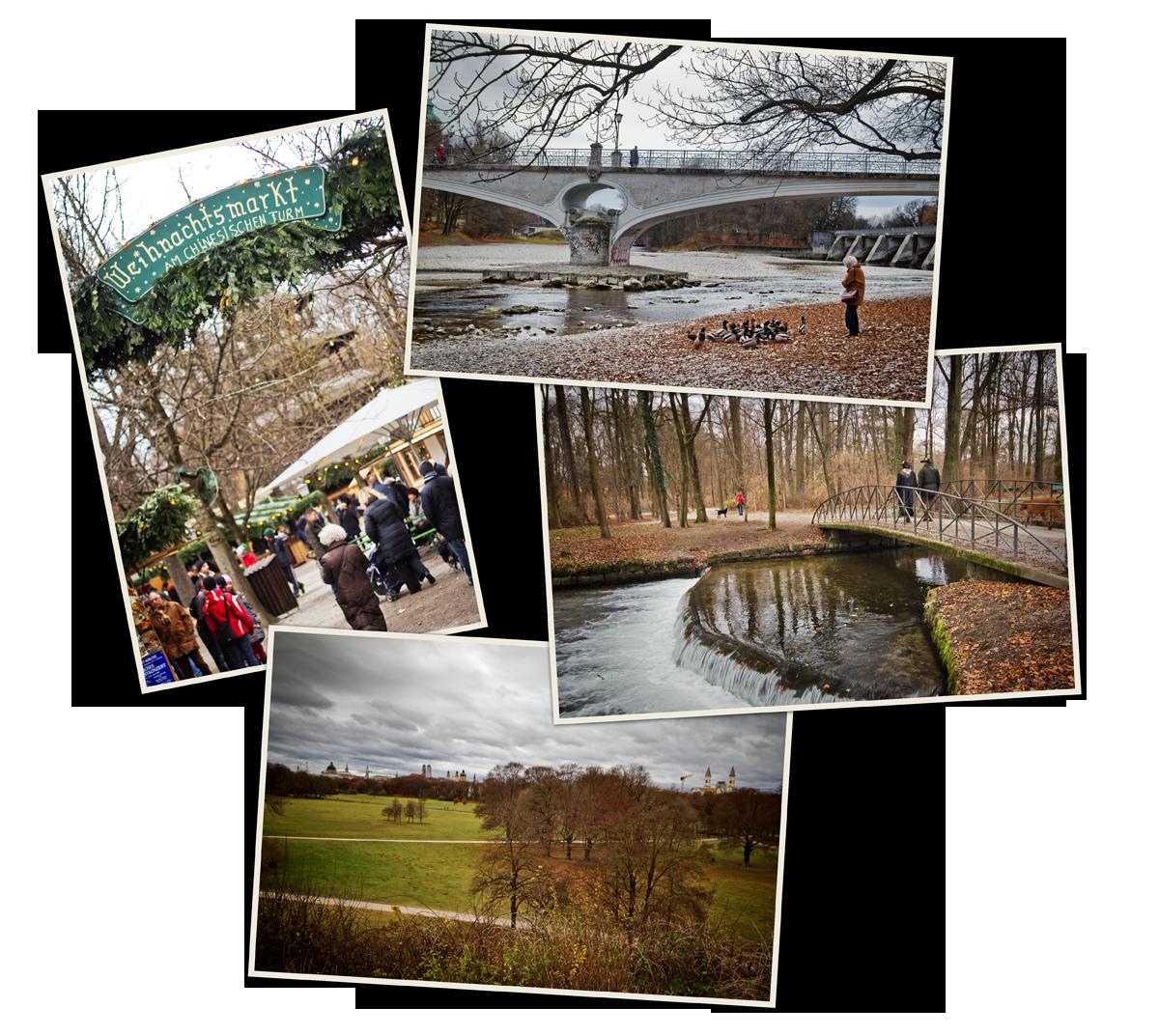 Englischer Garten, le jardin anglais
