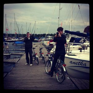 Pologne en bateau