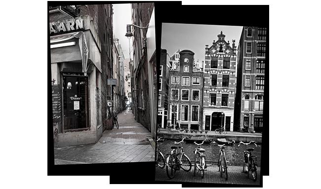Voyage à Amsterdam 2009 Vs. 2013