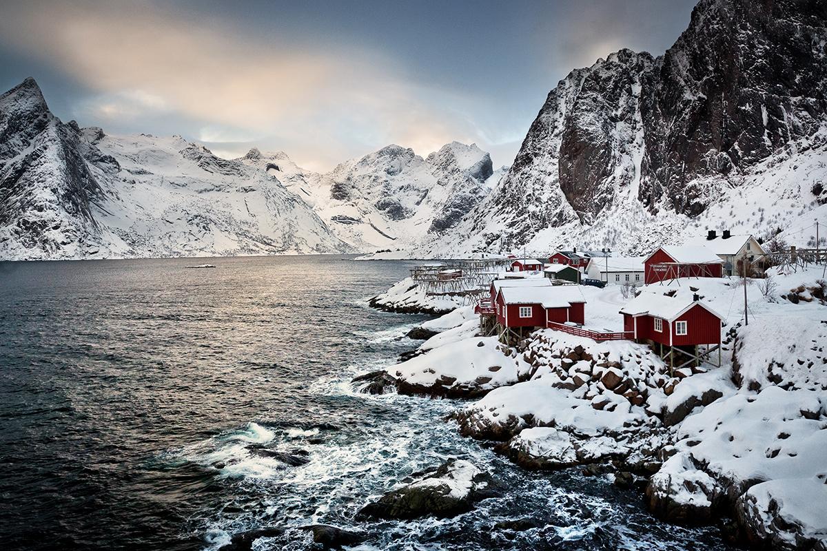 Les Lofoten En Hiver Reine Fjords Et Aurores Bor Ales