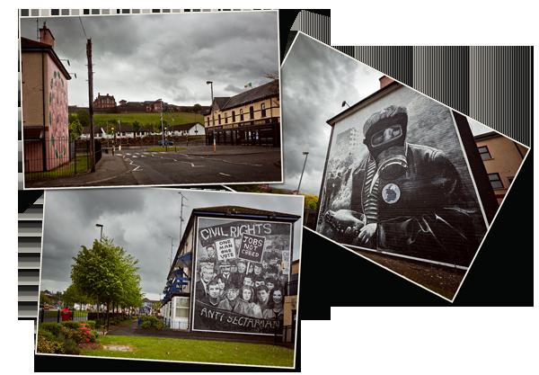 Voyage en Irlande du Nord : Derry