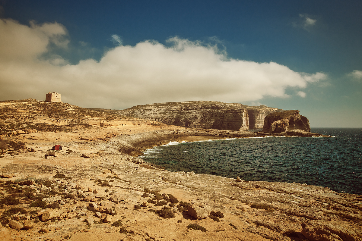 Gozo : la baie de Dwejra