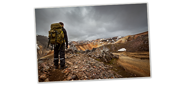 Juillet 2013, Trek en Islande