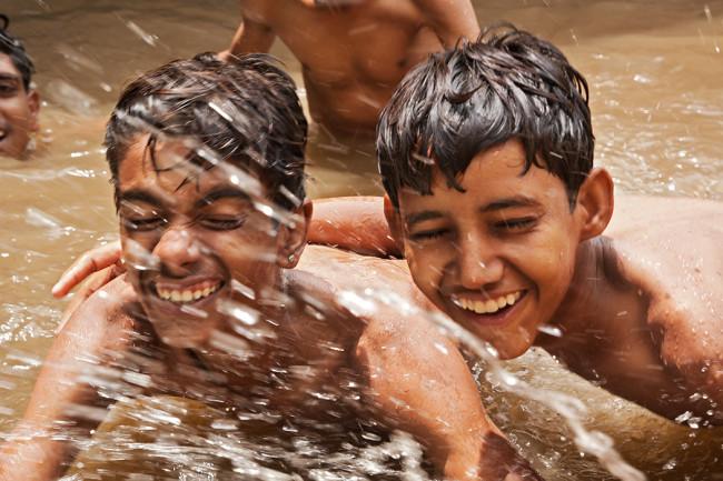 L'Inde des gens heureux !