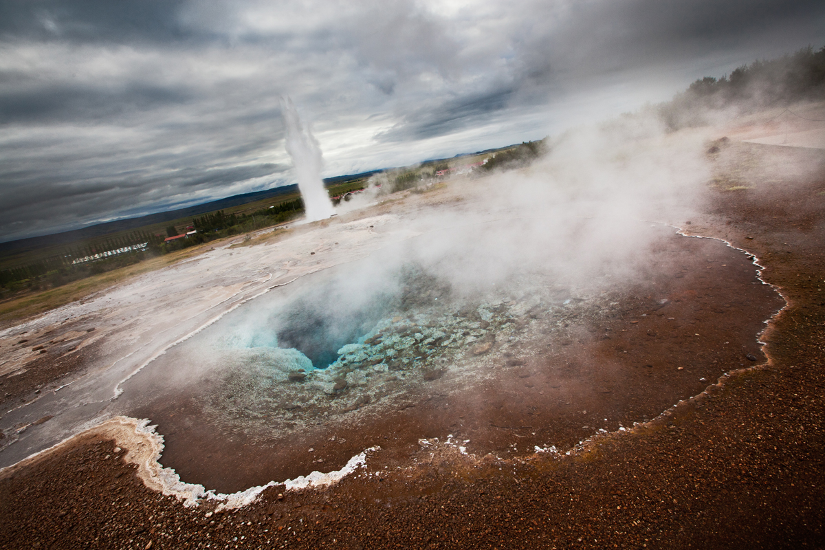 Photographier les geysers