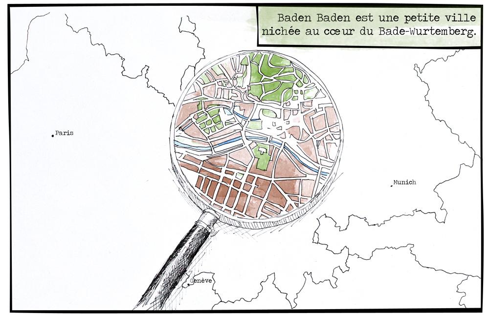 Baden Baden en bédé