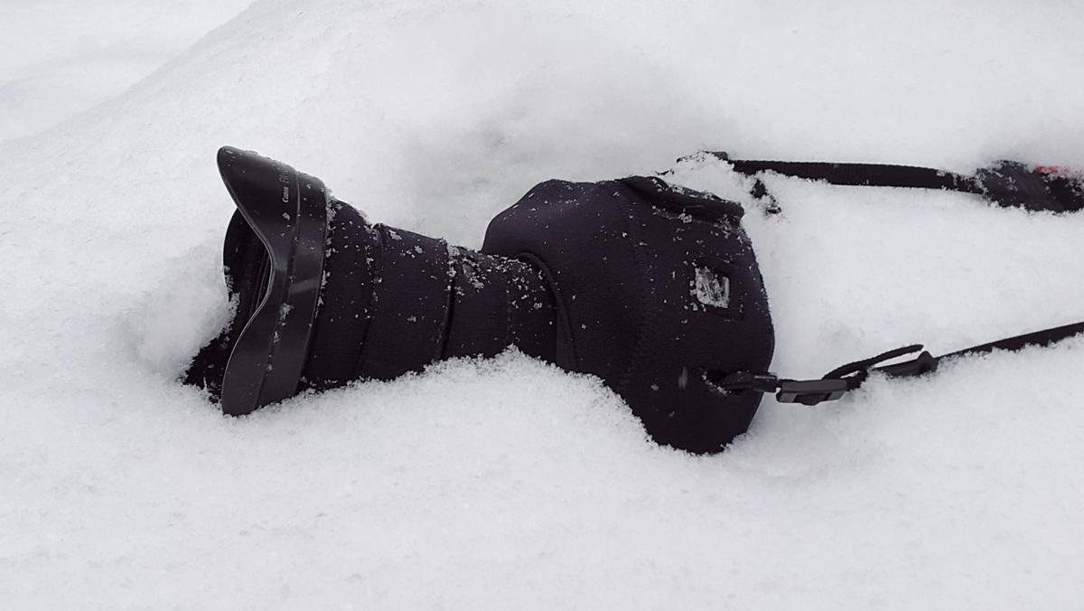 Faire des photos quand il fait froid