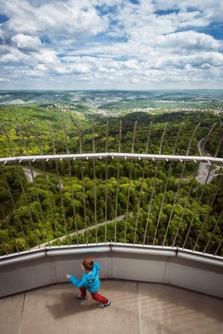 La tour Fernsehturm, le plus haut point de vue sur Stuttgart
