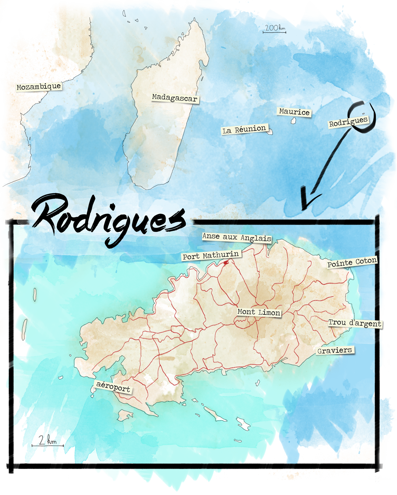 carte Rodrigues