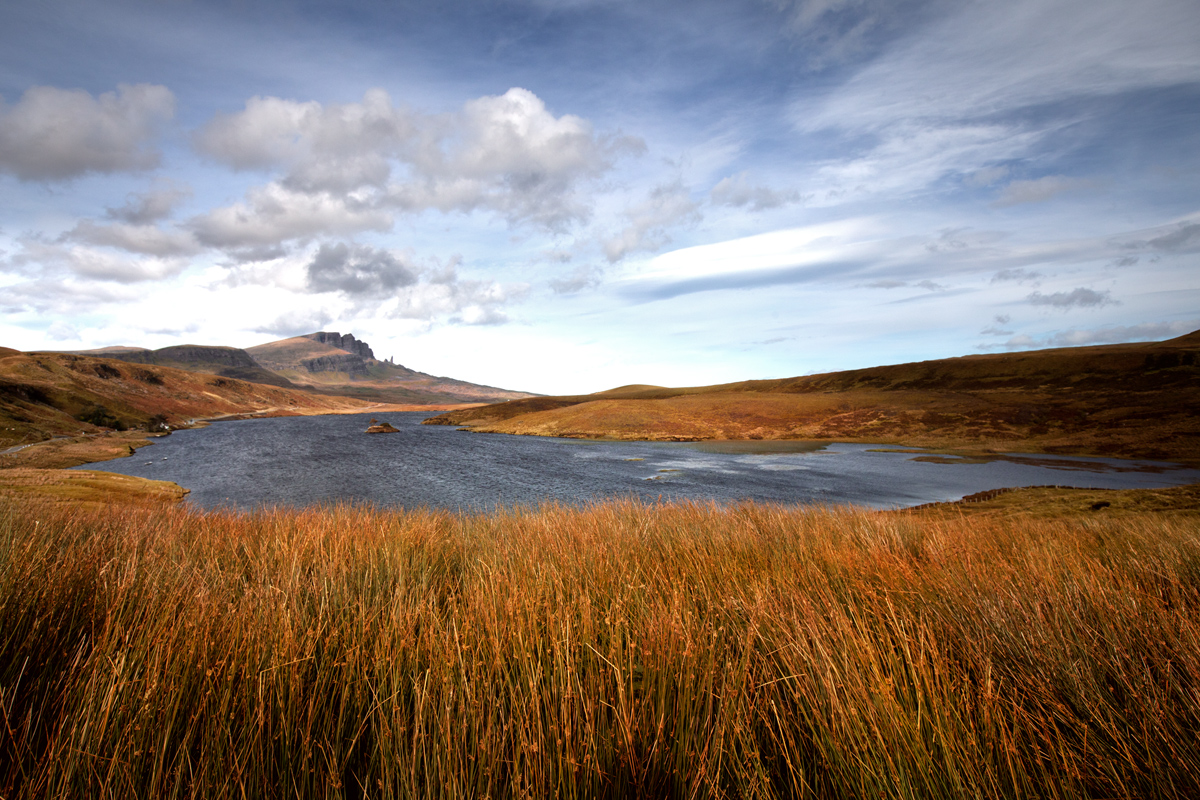 Loch Fada, île de Skye, Écosse