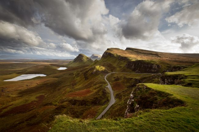 Quiraing, île de Skye, Écosse