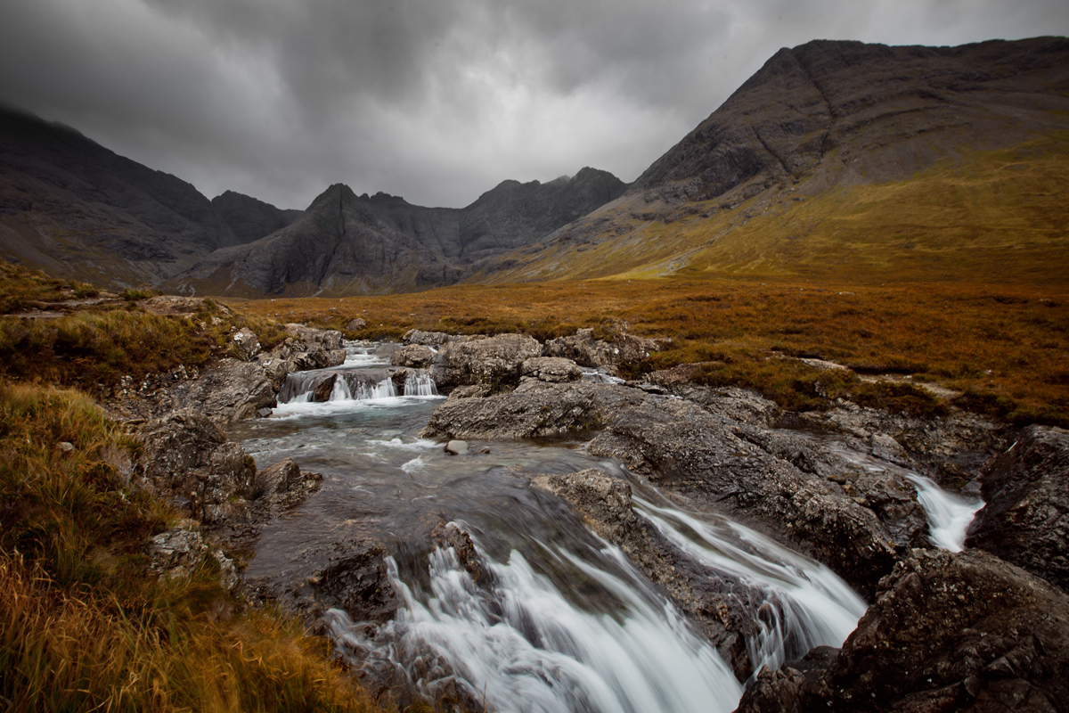 Fairy Pools, île de Skye, Écosse