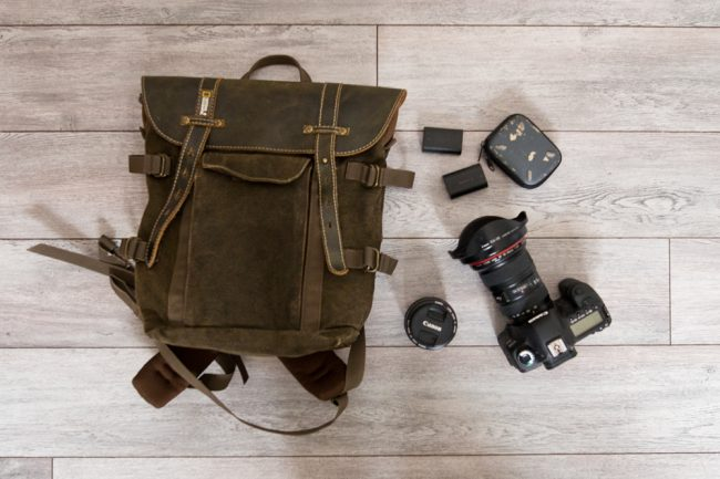 sac photo voyage leger