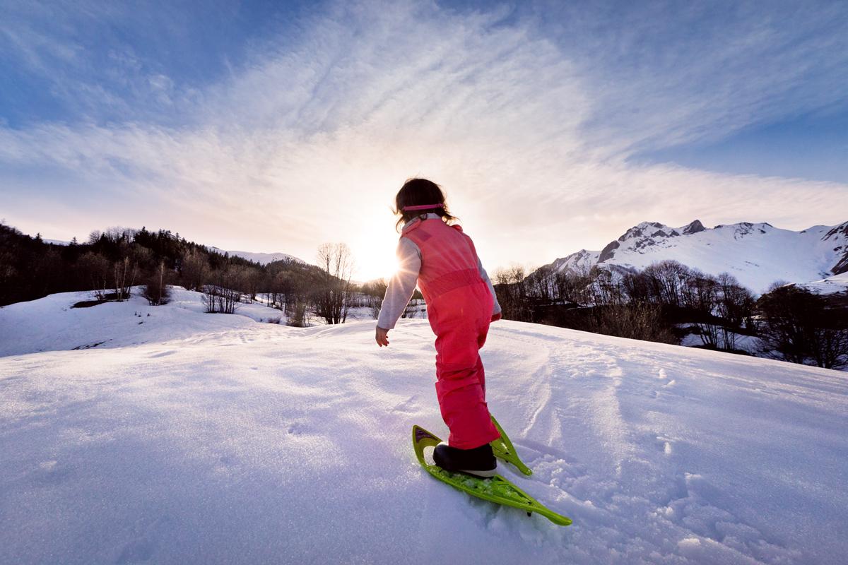 Les joies de la montagne en hiver avec un jeune enfant - Office de tourisme saint martin de belleville ...