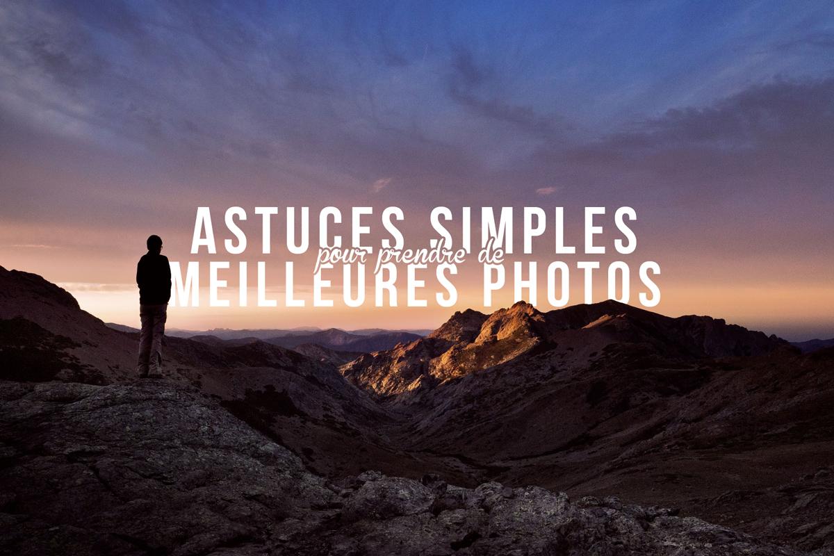 prendre de meilleures photos de voyage