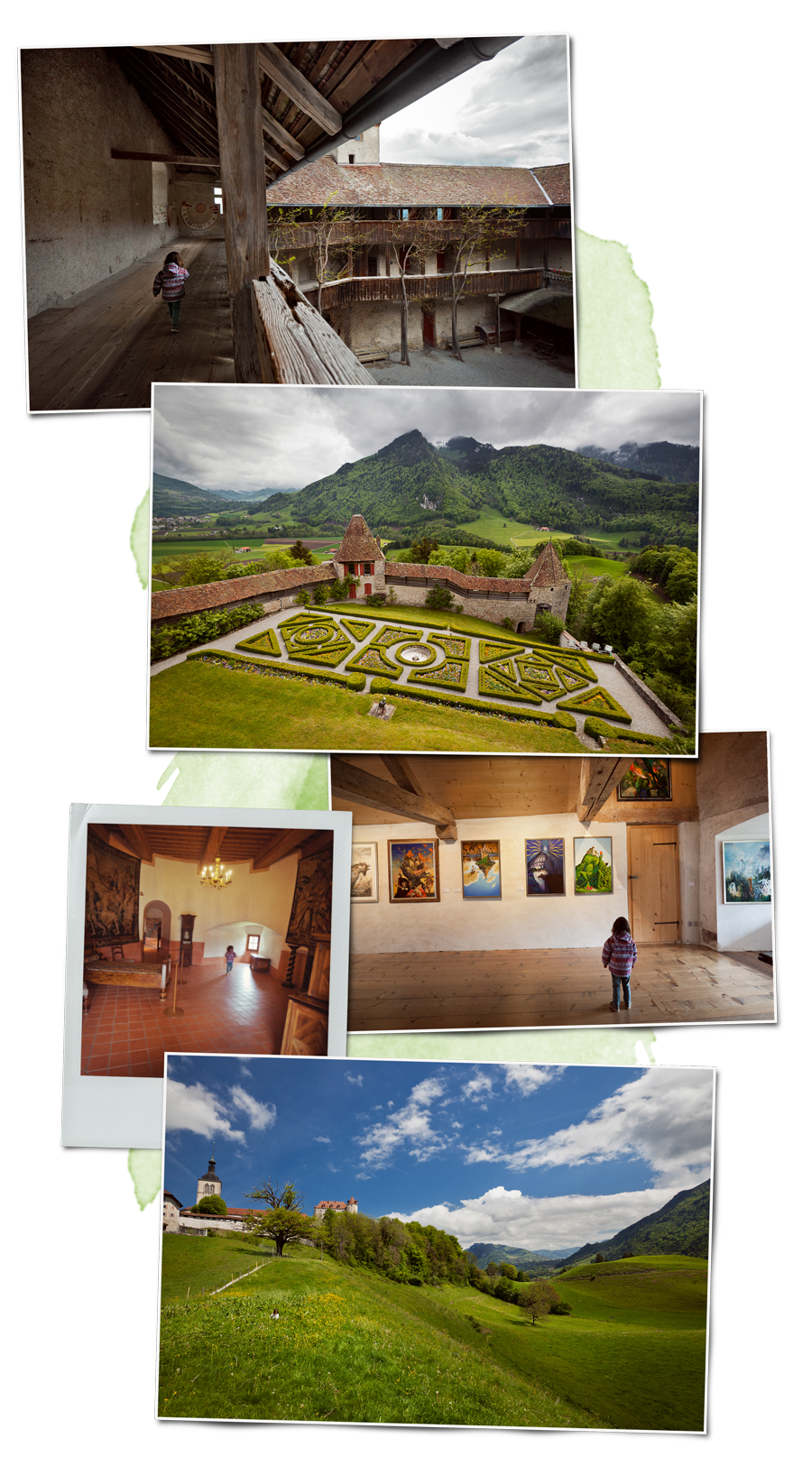 Carnet de voyage en suisse le canton de fribourg en for Le jardin morat