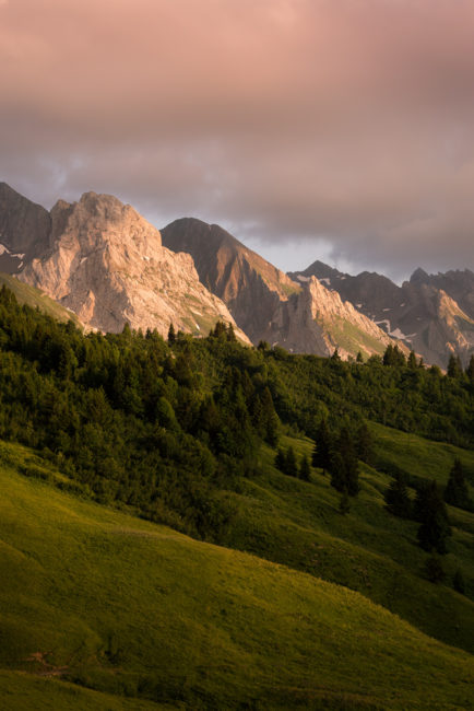 Panorama depuis le Col de Annes