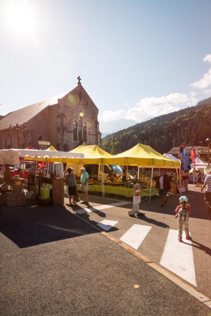 marché du Grand-Bornand