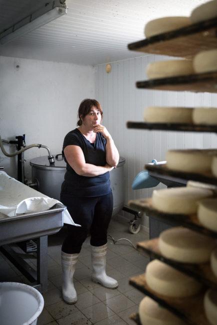Productrice de fromages en Haute-Savoie