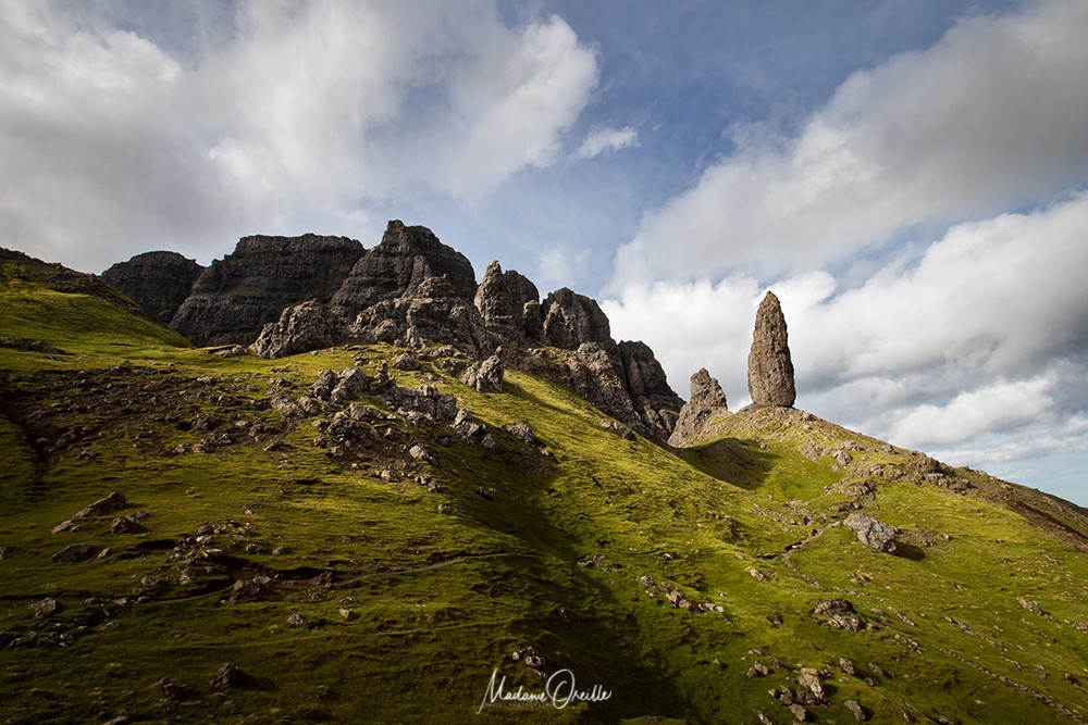 Old man of Storr, île de Skye, Écosse