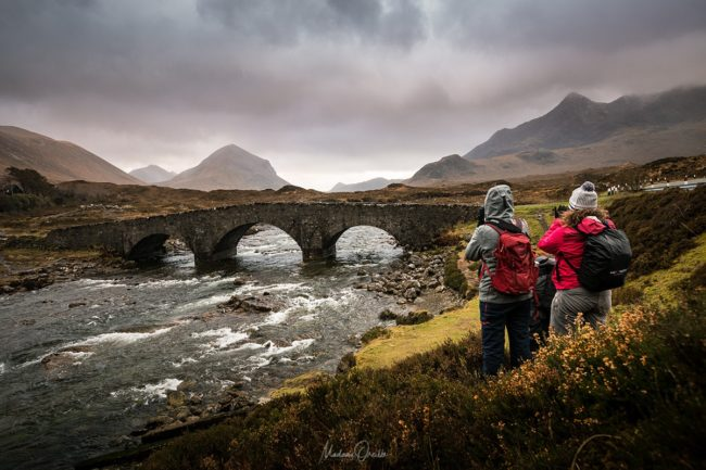 Pont de Sligachan, île de Skye, Ecosse