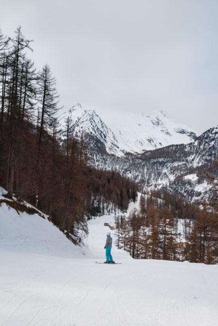 débuter en ski - les Orres