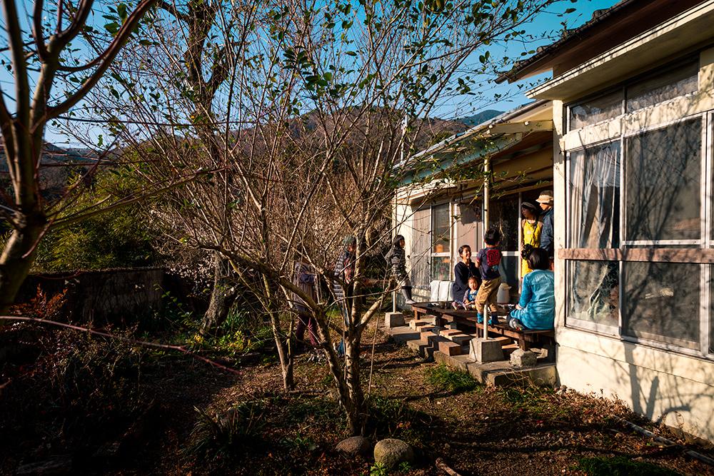 hébergement chez l'habitant à kyushu