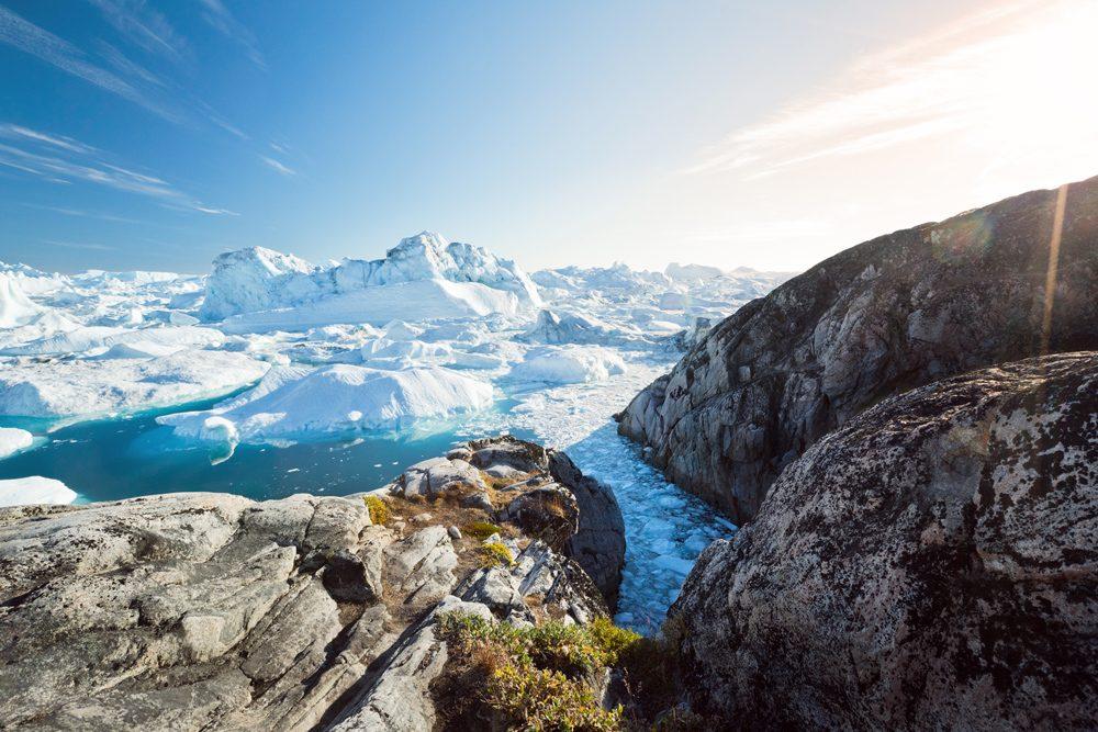 Les icebergs d'Ilulissat, Groenland
