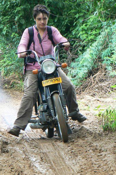 Moto en Inde