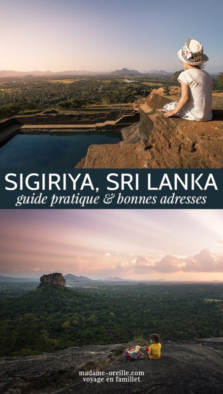 Sirigiya : Rocher du Lion ou Pidurangala ?