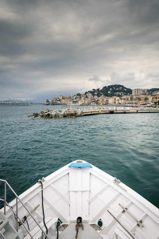 Gênes en famille - bateau