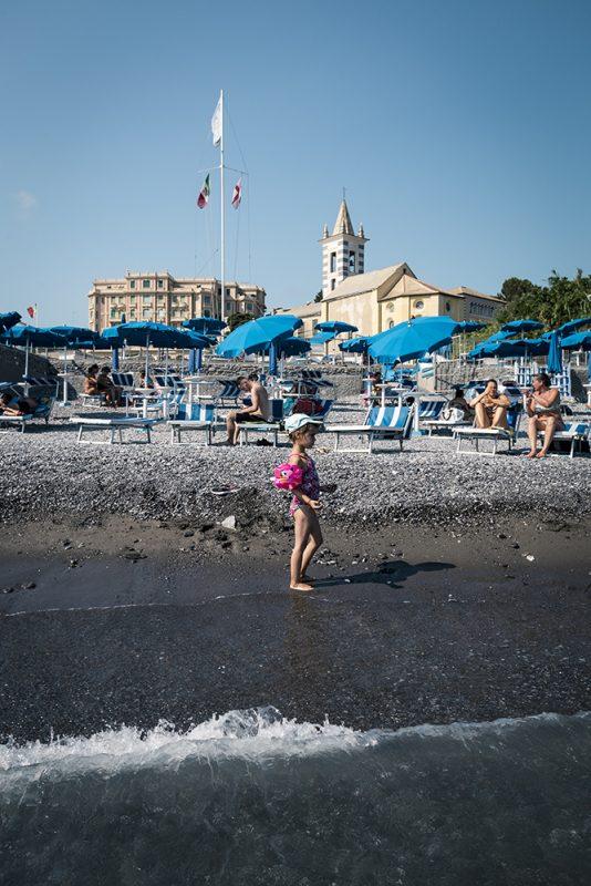 Gênes en famille - plage