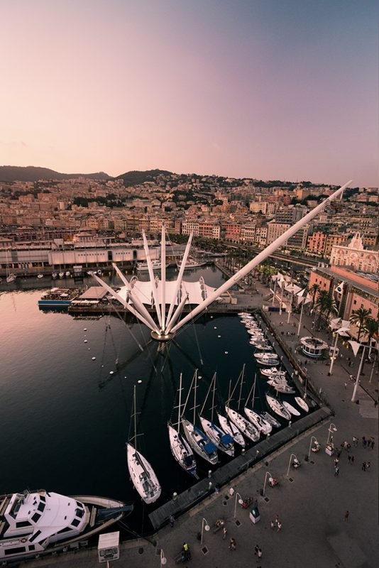 Gênes : la grande roue
