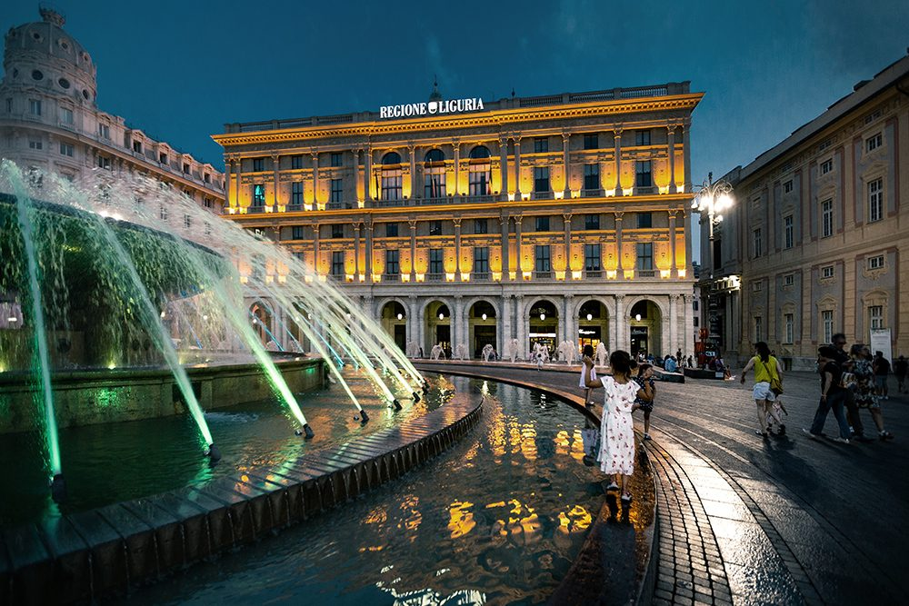 Gênes en famille - piazza de ferrari