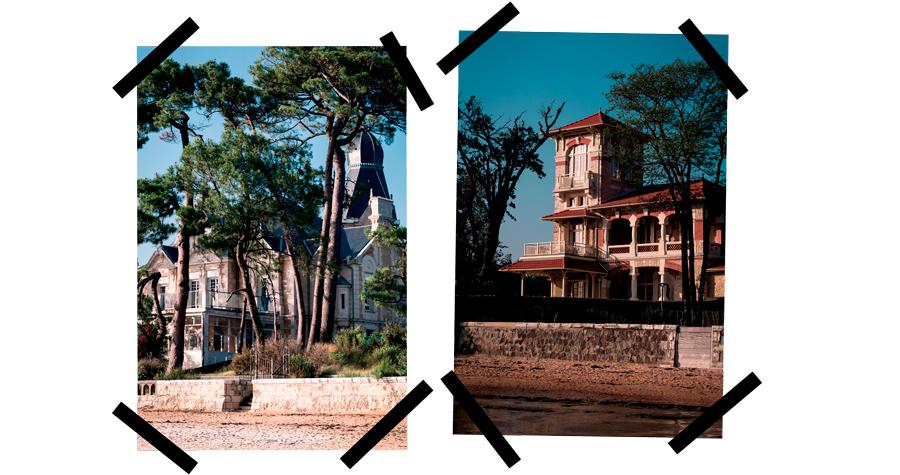 villas de Lanton, Bassin d'Arcachon