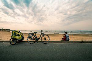 cyclotourisme en famille autour du Bassin d'Arcachon