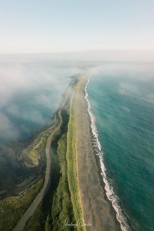 Isthme du Grand Barachois, entre Miquelon et Langlade