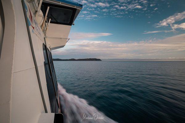 bateau entre Saint-Pierre et Miquelon