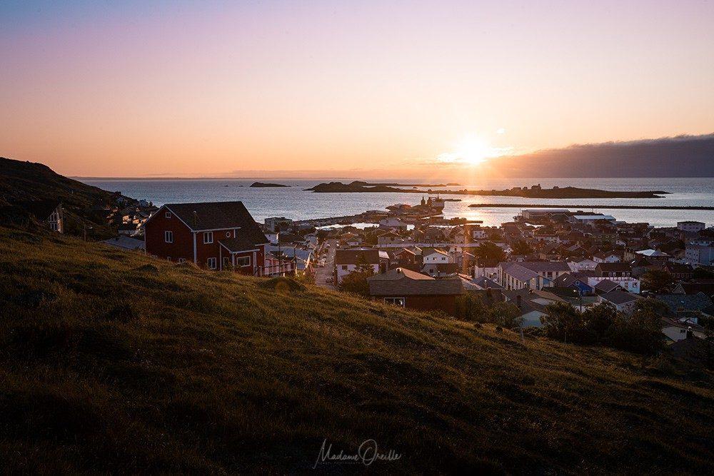Saint-Pierre, lever de soleil