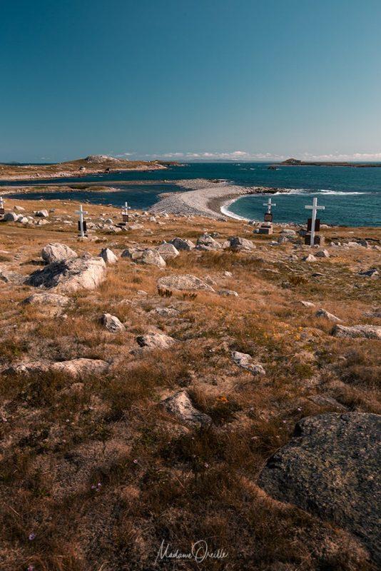 cimétière de l'île aux marins