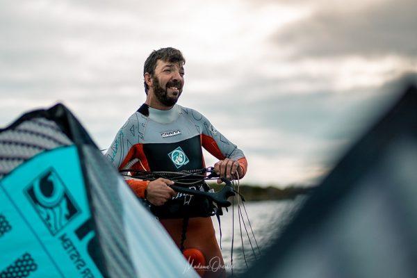Yohan, kite-surfeur