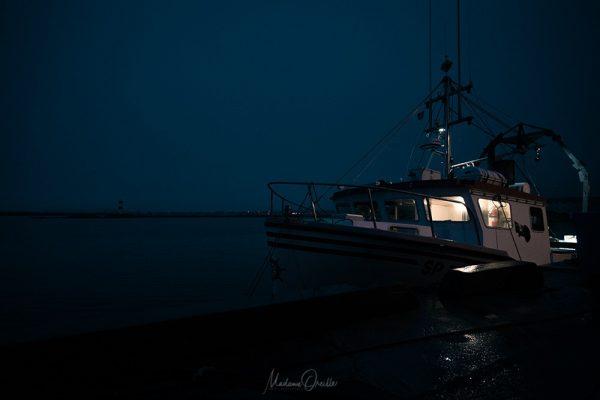Bateau de pêche, le Cap Percé