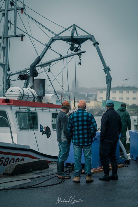 Pêcheurs à Saint-Pierre